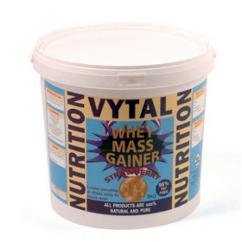 Whey Gainer Vytal Whey Mass Gainer 5kg