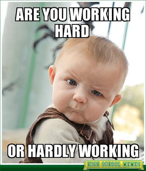 Memes About Work - image gallery hard work meme