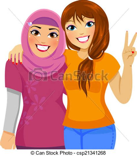 muslim woman clipart clipground