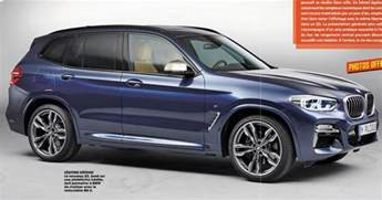 Bmw X 3 2018 Bmw X3 Official Photos And Details Leaked Including