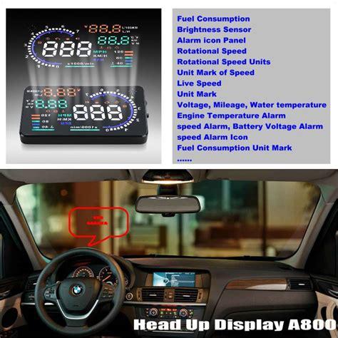 automotive repair manual 2010 bmw x3 head up display car hud head up display for for bmw x3 e83 x5 e53 e70 x6 e71 safe driving screen projector