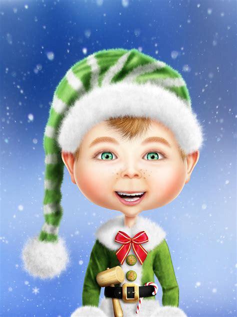 christmas wallpaper elves christmas elves wallpaper wallpapersafari