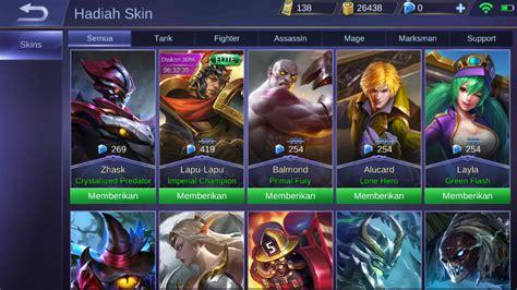Jasa Gift Skin Mobile Legends cara gift skin mobile legends gang waniperih tempat baca berita sai mata perih