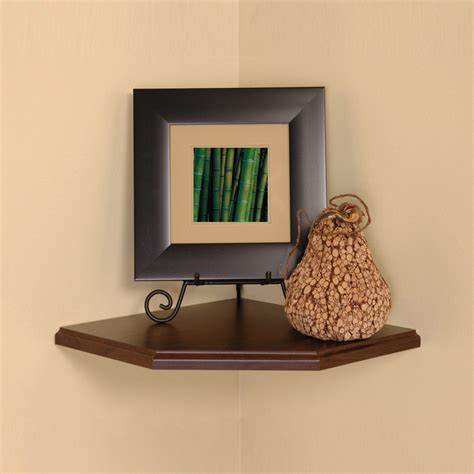 Wall Shelf Corner by 12 Inch Floating Corner Shelf In Wall Mounted Shelves