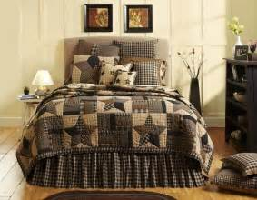 country bedding 7pc bingham primitive country quilt shams pillow