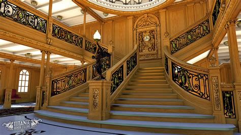 Dollhouse Chandelier Titanic S Grand Staircase By Titanichonorandglory On