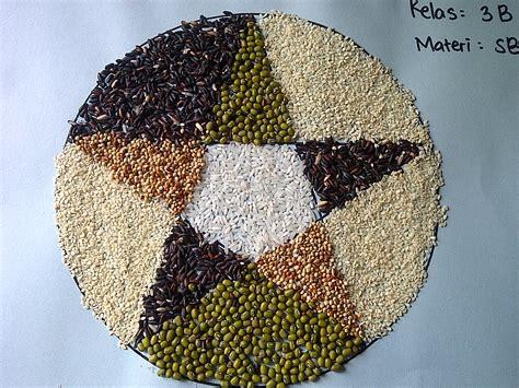 membuat kolase dari biji bijian kolase dari bahan biji bijian it s fun life n beauty