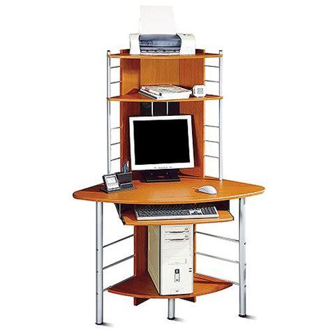 corner computer workstation desk corner tower computer desk honey pine and silver price
