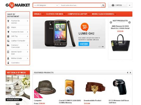 a collection of high quality responsive magento templates