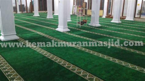 Karpet Murah Di Makassar jual karpet masjid di makassar harga terjangkau al husna