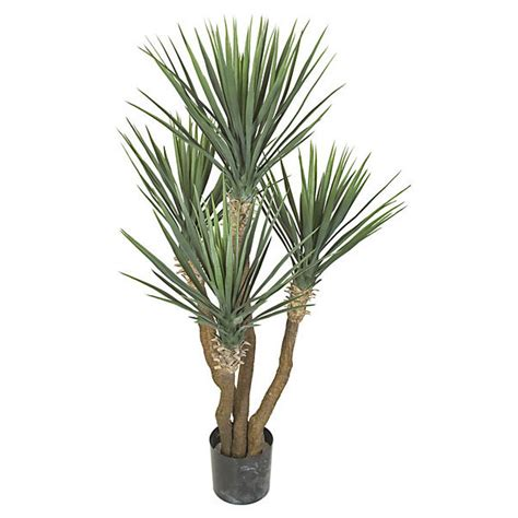 large artificial indoor plants flowers trees yukka 57 inch artificial yucca rostrata plant potted a 110030