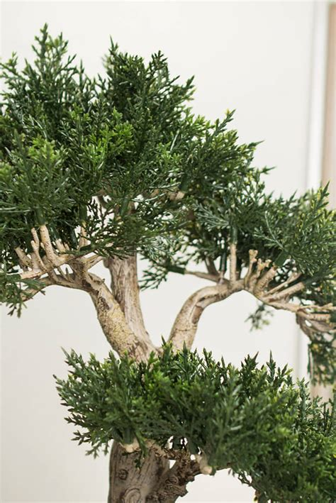 15 artificial tree 15 quot artificial cedar bonsai tree w container
