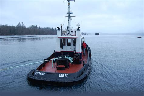 tug boat operating costs log barging westcoast tug and barge vancouver island bc