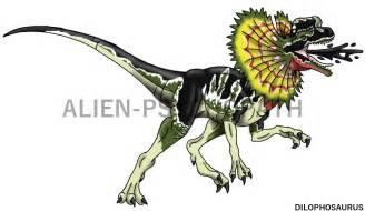 jurassic park dilophosaurus by alien psychopath on deviantart