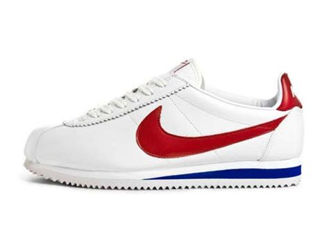 nike cortez leather white blue eu kicks