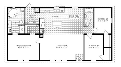 the imperial imp 46019b manufactured home floor plan jacobsen homes manufactured homes jacobsen homes