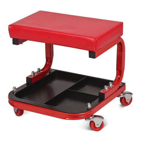 Mechanic Chair by Mechanic Creeper Rolling Seat Stool Chair Tray Repair