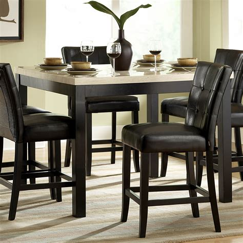 vecelo dining table with 4 chairs black kitchen table sets black vecelo glass dining table