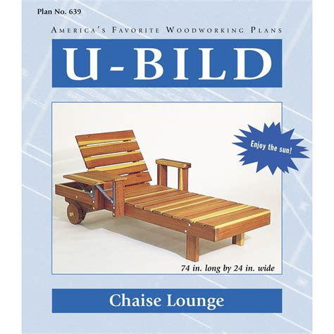 chaise lounge woodworking plans shop u bild chaise lounge woodworking plan at lowes com