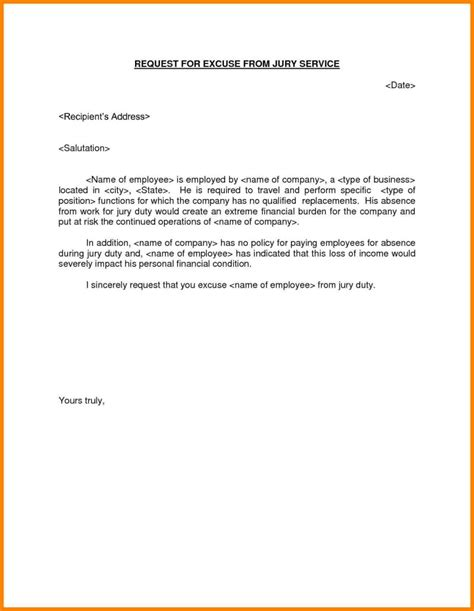 Financial Hardship Letter For Jury Duty how to address a letter to jury duty howsto co
