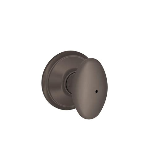 bed knobs schlage siena oil rubbed bronze bed and bath knob f40 sie 613 the home depot