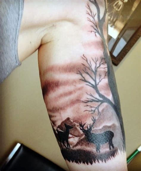 inner arm hunting tattoo creativefan