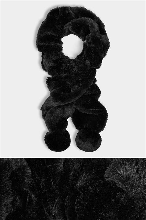 add background image to div black elasticated faux fur scarf
