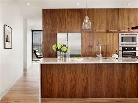 plan de travail cuisine bois brut la cuisine bois brut adopte un look design moderne