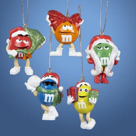walmart ornaments pack club pack of 30 m m s friends miniature ornament sets walmart