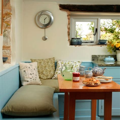 country kitchen bench corner bench be inspired by this blue country kitchen