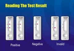 hasil pemeriksaan rapid test