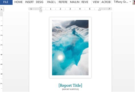 student report template word student report word template with cover photo