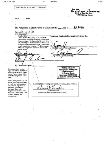 notary signature ideal notary document
