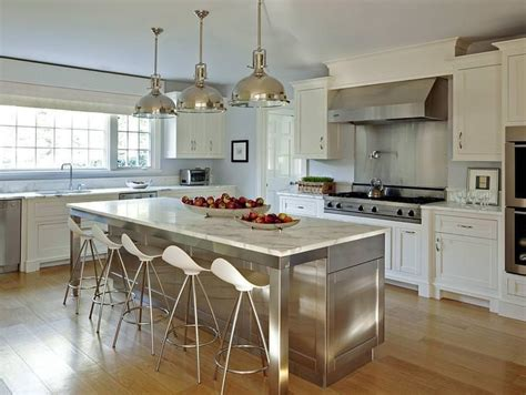 best 25 stainless steel island ideas on pinterest intended for crosley alexandria kitchen island with stainless steel top