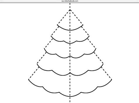 card ornament template pop up tree card coins to dollars