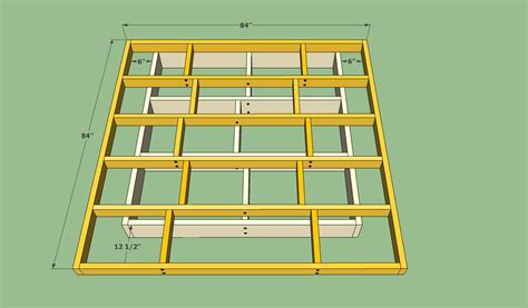 platform bed frame plans platform bed frame plans howtospecialist how to build