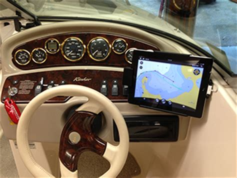 boat gps for iphone boat mounts for phones tablets ipods or gps