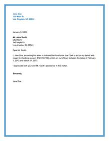 Authorization Letter Format For Collection Money authorization letter sample 10 printable formats