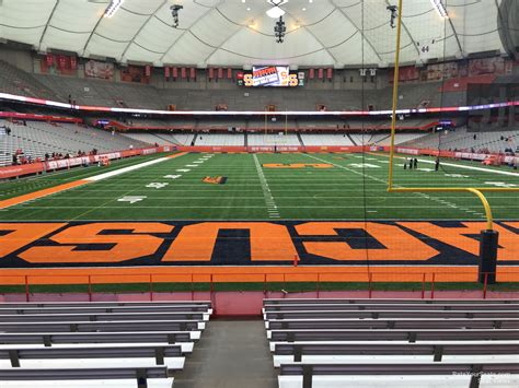 Nys Section 2 Football by Carrier Dome Section 109 Syracuse Football Rateyourseats
