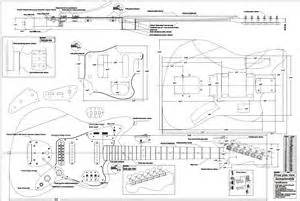 Fender Jaguar Dimensions Door From Wood Guitar Plans Fender Telecaster