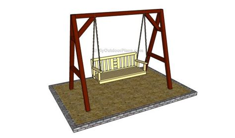 diy porch swing plans  blueprints mymydiy