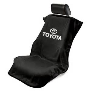 Seat Covers For Toyota Seat Armour 174 Sa100toyb Black Towel Seat Cover With