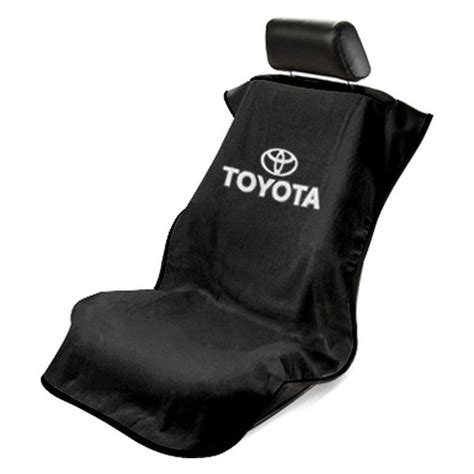 seat covers toyota trucks seat armour sa100toyb black towel seat cover with