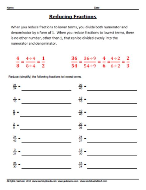 reducing fractions worksheet pdf how to reduce fractions worksheet free worksheets library and print worksheets free