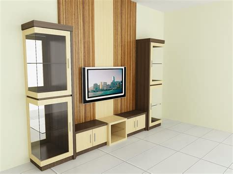 backdrop tv partisi dama desain interior
