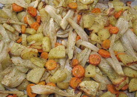 come cucinare le carote al forno finocchi patate e carote al forno la cucina vegetale