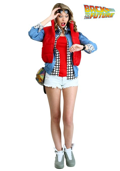 halloween costumes women s marty mcfly costume