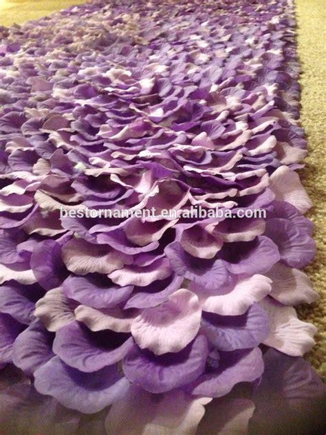 Lavender Wedding Aisle Runner by Purple Symphony Purple Lavender Silk Petal Aisle