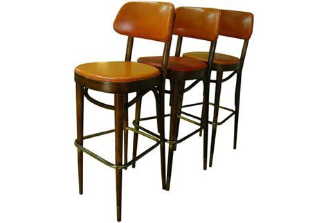Stools Nyc by Thonet Nyc 1950s Bar Stools Mid Century Soooo Chic