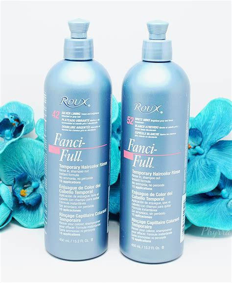 temporary hair color rinse roux fanci temporary hair color rinse